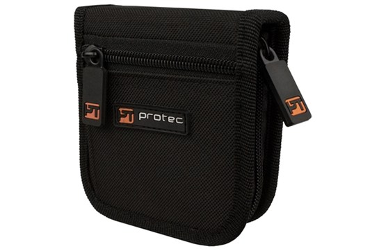 Protec A219 Small Brass 3 Mouthpiece Zipper Pouch