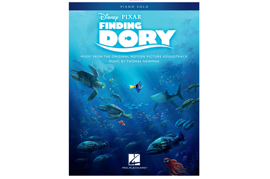 Finding Dory Music from the Motion Picture Soundtrack Piano Solo