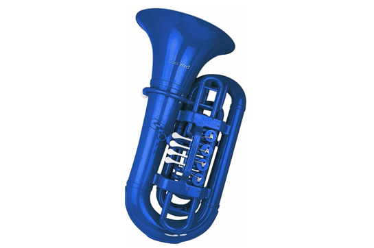 Cool Wind Plastic Tuba (Blue)