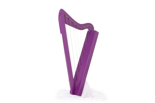 Used Purple Harpsicle Harp - Travel Harp by Rees Harps