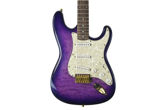 Used Jay Turser JT-300M Trans Purple with case