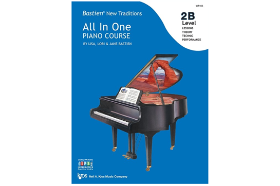 Bastien New Traditions: All In One Piano Course, Level 2B