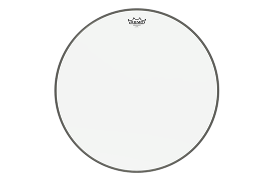 Remo Ambassador Clear Bass Drumhead, 22