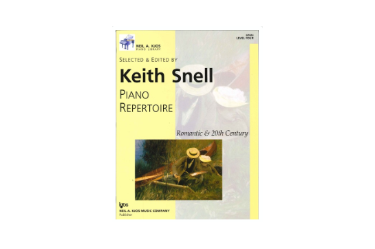 Piano Repertoire: Romantic & 20th Century, Level 4