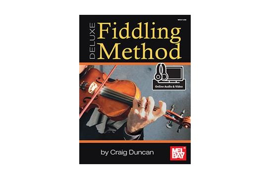 Fiddling Method Deluxe w/online audio/video