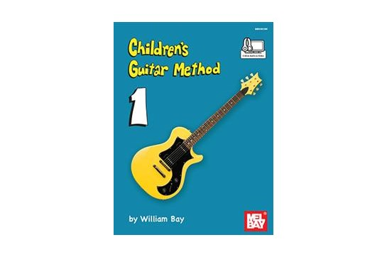 Childrens Guitar Method 1 w/Audio