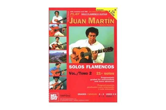 Play Solo Flamenco Guitar with Juan Martin Vol 2