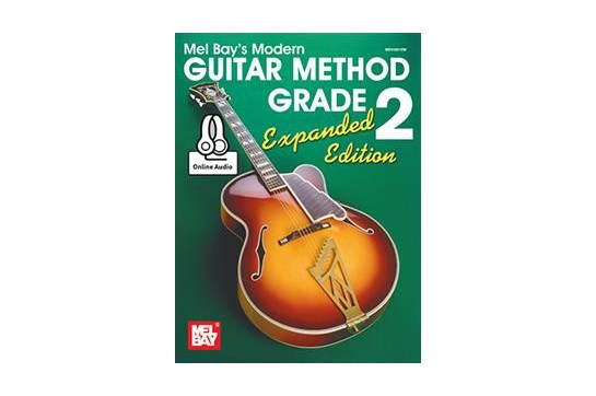 Modern Guitar Method 2 Expanded Edition w/online audio