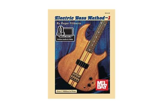 Mel Bay Electric Bass Guitar Book 1 w/Online Audio