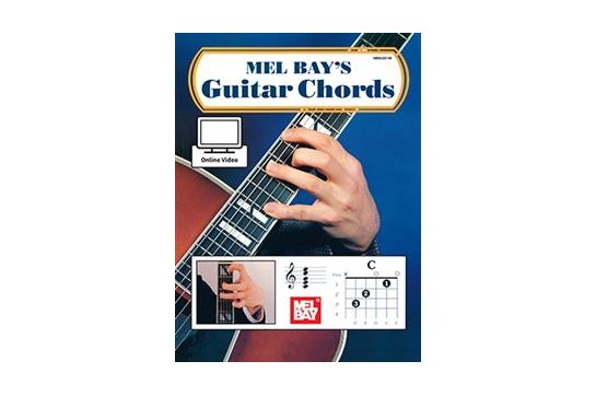 Mel Bays Guitar Chords w/Online Video, MB