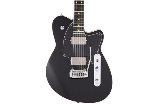Reverend Reeves Gabrels Signature Guitar - Satin Midnight Black