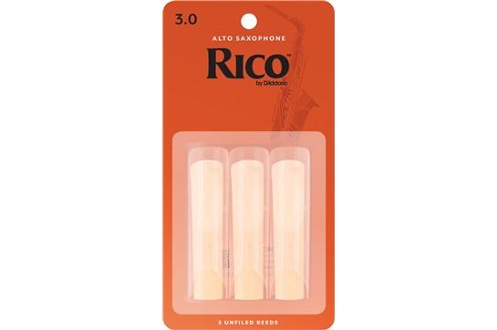 Rico Alto Saxophone Reeds Strength 3 (3-Pack)