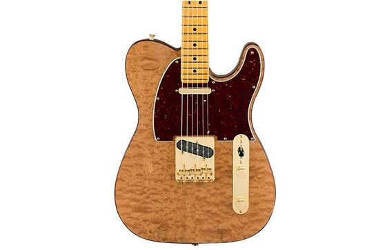 Fender Rarities Collection Red Mahogany Top Telecaster (Natural)