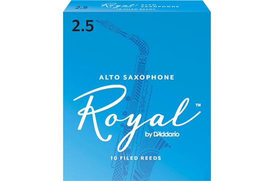 Rico Royal Alto Sax Reeds Strength 2.5 (Box of 10)