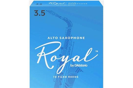 Rico Royal Alto Saxophone Reeds Strength 3.5 (Box of 10)