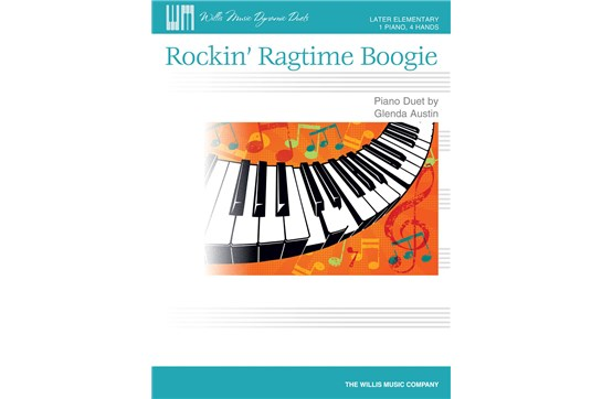 Rockin' Ragtime Boogie - Piano Duet (7112C11)