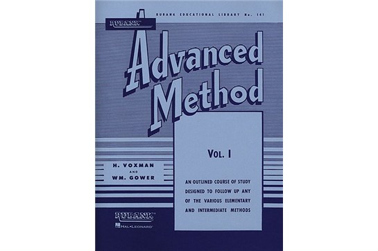 Rubank Advanced Method - French Horn Vol. 1