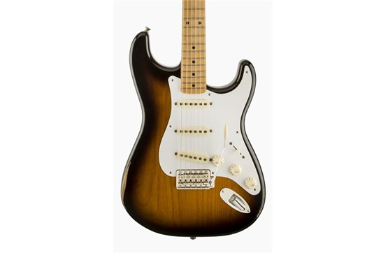 Fender Road Worn '50s Stratocaster (2-Color Sunburst) - Maple Neck