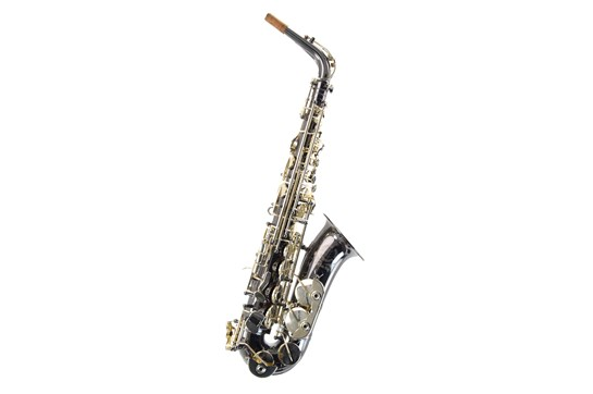 Used Cannonball Sceptyr Alto Saxophone (Black Nickel Body/Silver-Plated Keys)