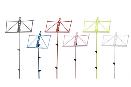 Strukture S3MS Deluxe Aluminum Music Stand With Bag (Black, Blue, Lime Green, Pink, Red, or White)