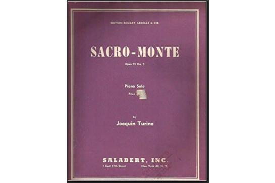 Sacro Monte, Op 55, No 5 (Danses Gitanes)