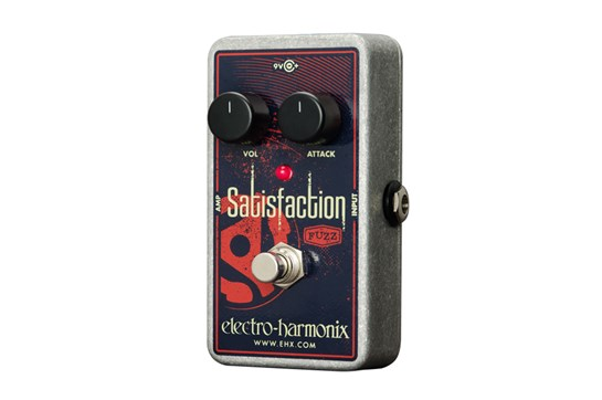 Electro-Harmonix Satisfaction Fuzz Guitar Effects Pedal