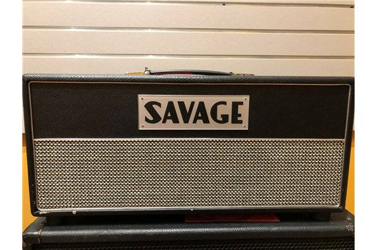 Used Savage Blitz 50 Amp Head