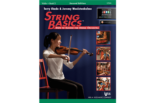 String Basics - Violin Book 3