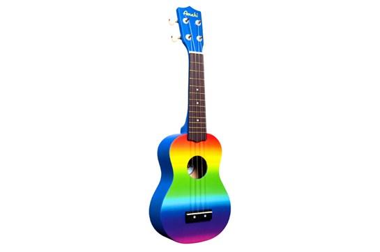 Amahi DDUK1 Soprano Ukulele (Rainbow)
