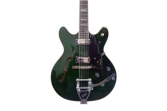 Guild Starfire V Emerald Semi-Hollowbody Maple (with case)