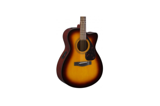 Yamaha FSX315C Concert Cutaway Acoustic-Electric (Tobacco Brown Sunburst)