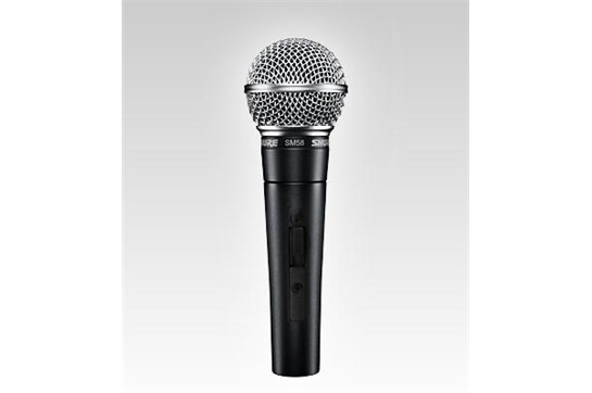 Shure SM58 Vocal Microphone with On/Off Switch (SM58S)