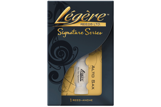 Legere Signature Series Alto Saxophone Reed (Strength 2.25)