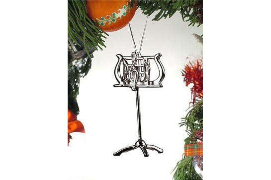 Broadway Gifts Silver Music Stand