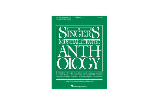 The Singer's Musical Theatre Anthology Volume 4 Tenor