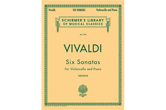 6 Sonatas for Cello
