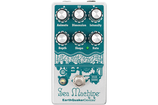 EarthQuaker Devices Sea Machine Chorus Guitar Effects Pedal V3