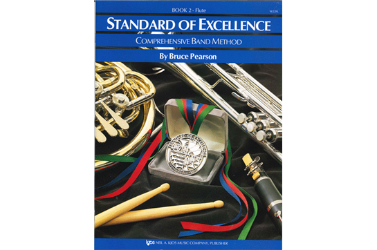 Standard of Excellence Flute Lesson Book 2