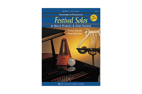 Standard of Excellence Festival Solos Book 2 for Clarinet