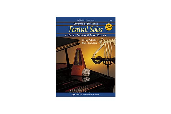 Standard of Excellence Festival Solos Book 2 for Trumpet