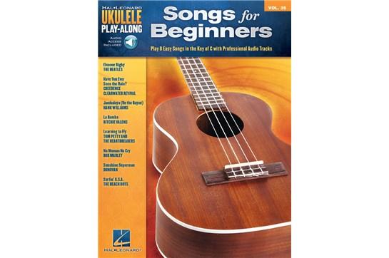 Songs for Beginners Ukulele Play-Along Volume 35