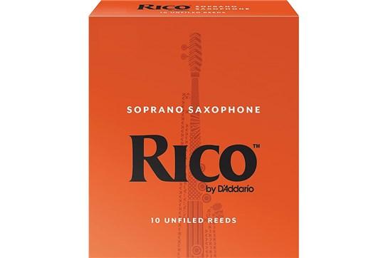 Rico Soprano Saxophone Reeds Strength 3 (Box of 10)