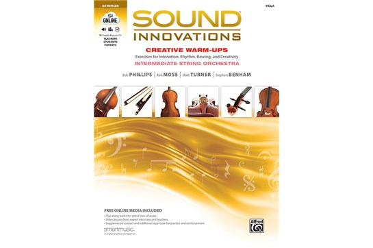 Sound Innovations Creative Warm-Ups for Viola