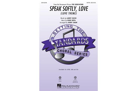 Speak Softly, Love - SATB