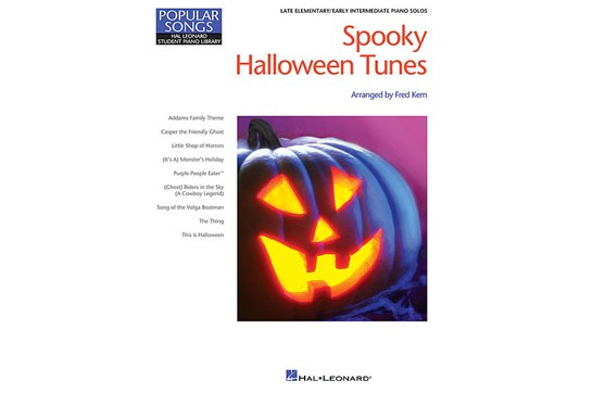 Spooky Halloween Tunes Late Elementary Piano Book