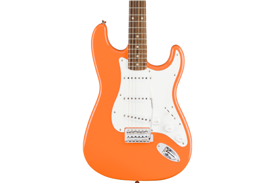 Squier Affinity Series Stratocaster Electric Guitar (Competition Orange)
