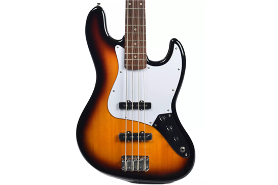 Squier Affinity Jazz Bass (Brown Sunburst)