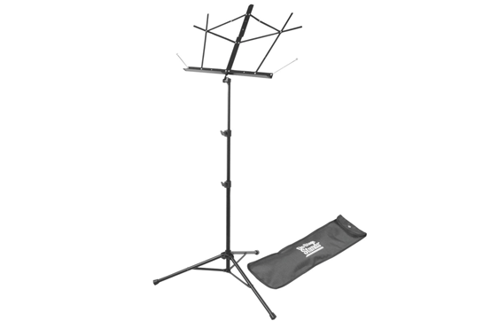 On Stage Tubular Music Stand (Black)