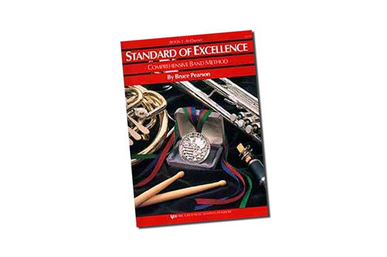 Standard of Excellence Drums and Mallet Percussion Lesson Book 1
