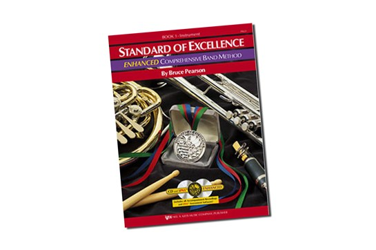 Standard of Excellence Enhanced Baritone Lesson Book 1 (Bass Clef)